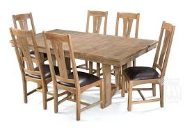 white oak dining table solid white oak wood west end bungalow extension dining table chair set white oak