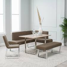breakfast nook ideas corner dining set with regard to table and chairs decor 17