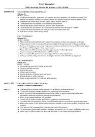 Die Setter Resume Examples CNC Resume Samples Velvet Jobs 12