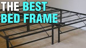 raised full bed frame. Delighful Full The Best Bed Frame  Raised Folding Metal Heavy Duty Cheap U0026 Easy  2018  YouTube In Full T