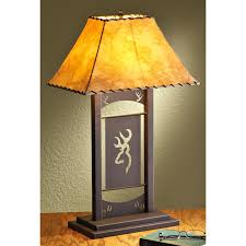 browning buckmark table lamp light leather