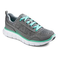 skechers running shoes. women\u0027s s sport designed by skechers™ - loop jersey sneakers performance athletic shoes gray skechers running