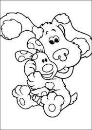 Small Picture Blues Clues coloring pages on Coloring Bookinfo Coloring Pages
