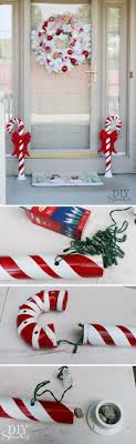 Candy Cane Outdoor Christmas Decorations 60 Festive Outdoor Christmas Decorations Pvc pipe Candy canes 40