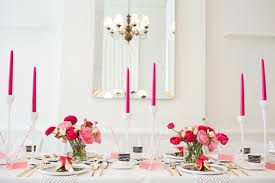 white with pink party inspiration