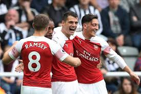 Image result for Newcastle 1 Arsenal 2