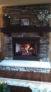 brighton stone and fireplace aspen southern by b cultured with wood mantel limestone hearth 10