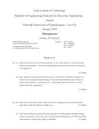 Disadvantages Of Teamwork Total Quality Management Management Exam Docsity