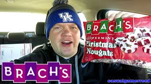 I think brach's has a changeling on its hands. Reed Reviews Brach S Peppermint Christmas Nougats Youtube