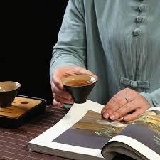 <b>TANGPIN</b> drinkware japanese black crockery ceramic <b>tea</b> cup for ...