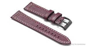 replacement leather watch band strap for samsung gear sport
