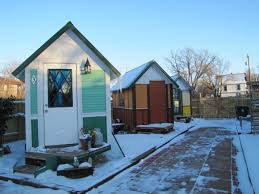 tiny house community for homeless. Simple Homeless Wintery Tiny Houses To Tiny House Community For Homeless S