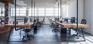 industrial style office. industrial style workspace designed by architect roy david 1 office r