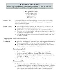 Sales Administrative Assistant Resume. Sample Targeted Resume ...