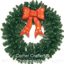 outdoor lighted wreath led wreaths for windows battery