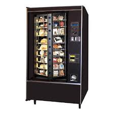 National Vending Machine Delectable CRANE NATIONAL SHOPPERTRON 48 Rotating Cold Food Vending Machine