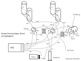 fender precision elite bass p j bass wiring diagram click to open wiring ii window
