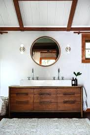 Bathroom Vanity Rustic Double Sink Vanity Wood Bathroom Vanities