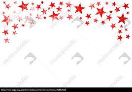 Stock Bild 25982926 Rahmen Der Roten Weihnachtssterne