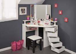 diy vanity table ideas. offering bundles of storage for all your beauty products, this corner dressing table is the perfect addition to any bedroom. diy vanity ideas