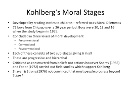 social and moral development 13 kohlberg s moral
