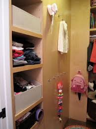 girls walk in closet. This Closet, From The Same Client In Past Few Posts, Is Shared By A Newborn And 2 1/2 Yr Old. Main Goal Here Was For Toddler To Get Girls Walk Closet