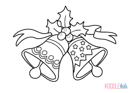 Christmas Bells Coloring Pages Printable Free Coloring Books