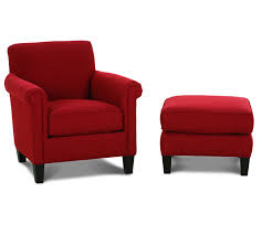 accent arm chair with ottoman. elegant red accent chair 00545 facil furniture intended for with arms arm ottoman o