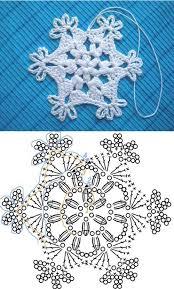 Crochet Snowflake Pattern Unique Wonderful DIY Crochet Snowflakes With Pattern