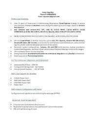 40 Aws Sample Resumes Certified Solutions Architect Resume Netdevilzco Cool Aws Resume