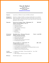 10 Resume For Medical Assistant Job Apply Form