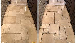 travertine tile and grout cleaning in cherry hills co