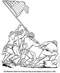 Small Picture Iwo Jima history military coloring pages for kid 109