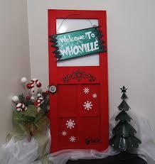 grinch christmas door decorating ideas. Modren Ideas Grinch Christmas Door Decorating Ideas And D