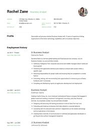 12x Business Analyst Resume Samples Resumeviking Com