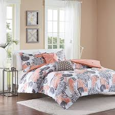 Coral Color Bedding: Amazon.com & Intelligent Design ID10-732 Marie Comforter Set Full/Queen Coral,Full/Queen Adamdwight.com