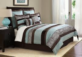miraculous teal and brown bedding applied to your home decor style design bedroom with 4pc