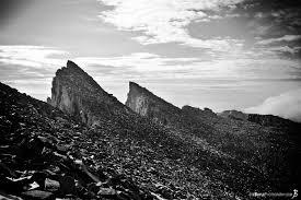 whitney black white. Mount Whitney Teeth (Black \u0026 White) Black White