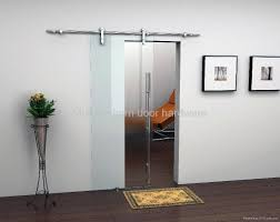 contemporary home office sliding barn. Praiseworthy Sliding Barn Doors With Glass Modern Style Interior Image Contemporary Home Office