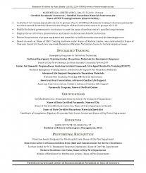 10 Perfect Emt Resume Cover Letter Writing Resume Sample Emergency