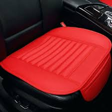 cushion for car seat colorful car seat cushion anti slip front seat cover leather car single cushion for car seat