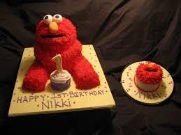 Elmo 1st Birthday With Smash Cake Cakecentralcom