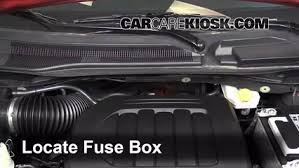 interior fuse box location 2008 2016 chrysler town and country 2013 chrysler town and country touring 3 6l v6 flexfuel fuse engine replace
