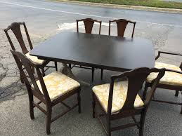 duncan phyfe dining room chairs. This Item Has Been Sold IMG_8575 Vintage Duncan Phyfe Style Mahogany Pedestal Table. Dining Room Chairs F