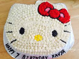 Sus Healthy Living Hello Kitty Cake A Chocolate Cake With
