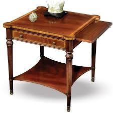 mahogany coffee table. Mahogany Side Table With Slide. Hover To Zoom Coffee