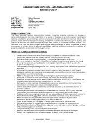 Resume For Property Management Job Property management job description for resume best of adorable 37