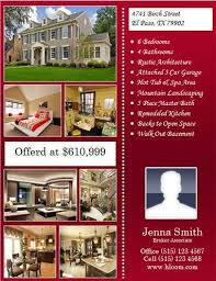 realtor open house flyers 14 free flyers for real estate sell rent