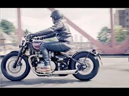 2017 new triumph bobber pure bonneville hot rod promo video