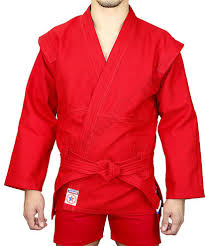 "<b>Куртка самбо</b> Крепыш-Я ""Атака"" красная | SHMAX.RU"